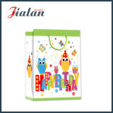 Papier d'art stratifié brillant Happy Birthday Shopping Gift Paper Bag