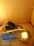 IGUALDAD con pilas impermeable de la radio DMX LED de 9PCS 15W Rgbaw 5in1 para al aire libre