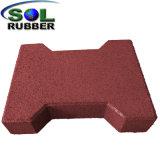 De gerecycleerde RubberMatten van de Betonmolen van de Vloer van het Been van de Hond Openlucht