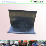 Fabricação de metal preta da folha do gabinete do metal do óxido