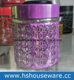 Различные цвета металлическую крышку набор со стеклянным кувшином
