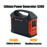 generatore solare portatile 100W con il comitato solare pieghevole 20W
