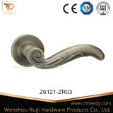 Exquisite Feather Tail Types Interior Wooden Door Lever Handle (Z6121-ZR01)