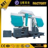 Машина ленточнопильного станка CNC горизонтальной двойной колонки Ce гидровлическая автоматическая