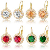 De recentste Oorringen van de Juwelen van het Ontwerp Mooie Kleurrijke voor Dame