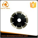 A circular concreta do diamante da soldadura de laser viu o disco da estaca da lâmina