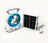 Mini ventilador de resfriamento por ventilador Solar Portátil Camping Pesca Caminhadas Piscina