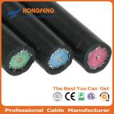 Коаксиальный кабель Квад-Экрана Rg11