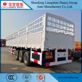 半12.5mの多目的のための容器ロックが付いている完全な貨物輸送のトレーラーの頑丈なトラック