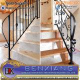 Parrillas de la escalera de hierro forjado escaleras Revestimiento de Power Metal Interior Exterior Escalera Escalera de acero