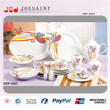 Insiemi di pranzo di ceramica degli articoli per la tavola (JSD116-R012)