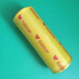 La nourriture de PVC s'attachent film avec le logo fait sur commande