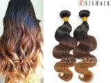 Venda por grosso de onda do Corpo do Mbw Prata Brasileira Ombre Hair