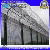 Alambre de púas recubierto de PVC para la valla de seguridad con SGS