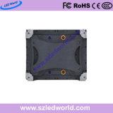 P1.56, P1.66, P1.92, visualización de pantalla video de interior de la pared del alquiler LED de la alta definición P2.5 con la cabina de fundición a presión a troquel de 400X300m m