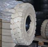 비 표시 단단한 포크리프트는 6.50-10 의 백색 포크리프트 타이어 6.50-10를 피로하게 한다