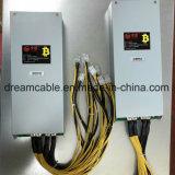 Antminer S7/S9 Btc 광업 광부를 위한 1600W 12V Bitcoin 광부 전력 공급