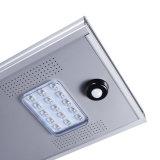 Lampe solaire extérieure de réverbère de l'alliage d'aluminium 15W DEL