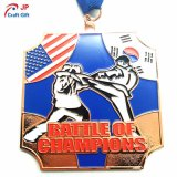 Medalha personalizada do metal do Triathlon