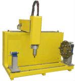 3636 de contrachapado de madera MDF CNC Máquina grabador de metal con 4 Eje rotativo para tallar