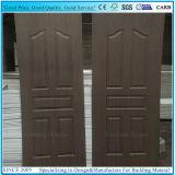 Contre-plaqué de peau de porte de panneau 2+1 avec le placage en bois d'EV Sapelli