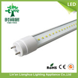 600mm 10W2835 SMD transparente T8 Tubo de luz de LED