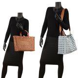 Mala de Laser de bolsas de couro PU mulheres Tote a grande capacidade mala bolsa a tiracolo bolsas promocionais (WDL0538)
