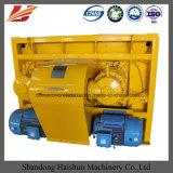 El PLC controla el mezclador concreto, mezclador concreto del eje horizontal gemelo Js750