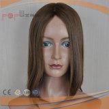 Trabajo manual completo de la Virgen de encaje pelo peluca (PPG-L-01760)