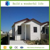 Villa moderne modulaire préfabriquée élégante en acier légère de Chambre de maisons