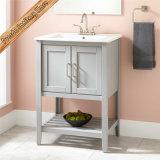 Die meiste populäres Bassinmatt-graue Badezimmer-Schrank-Eitelkeit