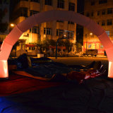 Aufblasbarer bekanntmachender Bogen mit LED-Licht