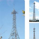 На опорный уголок стальной башни связи