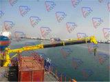 Guindaste do telescópio marinho & portuário/doca do guindaste