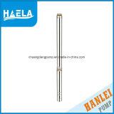 4 bomba de agua sumergible de la perforación del receptor de papel profundo de la pulgada 3m3/H