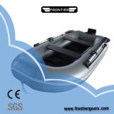 Пвх Понтонный каяк надувной жесткий алюминиевый двигатель промысел резиновой лодки