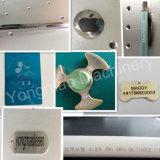 금속 꼬리표 조각 기계를 위한 섬유 기계 Laser 표하기
