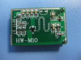 Professional 10.525GHz PCB do sensor de movimento de microondas