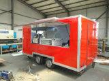 Enclosed передвижная тележка еды мороженного кухни