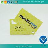 Карточка ключевой бирки багажа офсетной печати PVC