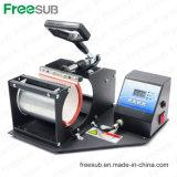 Machine manuelle de sublimation de presse de la chaleur de cuvette de tasse