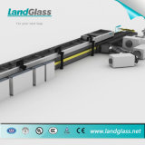 Landglass erzwang die Konvektion, die flach sind und das verbiegende Glas, das Zeile mildert