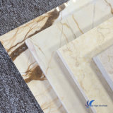 Mattonelle di pietra di marmo beige bianche naturali personalizzate