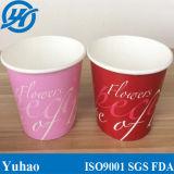 Nueva llegada 32oz 1000ml de yogur helado de la copa de helado con tapas de papel para helados copas
