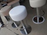 円形PUの高いシート棒椅子