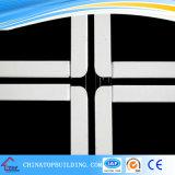 Barra di Fut T con la riga nera nelle griglie concentrare di /Ceiling T