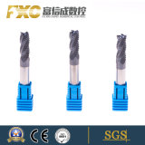 Fxc HRC 60 4 flautas Carbide extremidade quadrada do Cortador do Moinho
