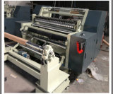Rodillo de papel adhesivo de la etiqueta engomada que raja y máquina el rebobinar (DC-FQJ)
