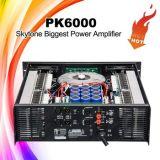 Amplificador profissional super do poder superior de Pk6000 1800W X 2 incríveis