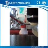 Máquina tampando do tampão plástico linear automático